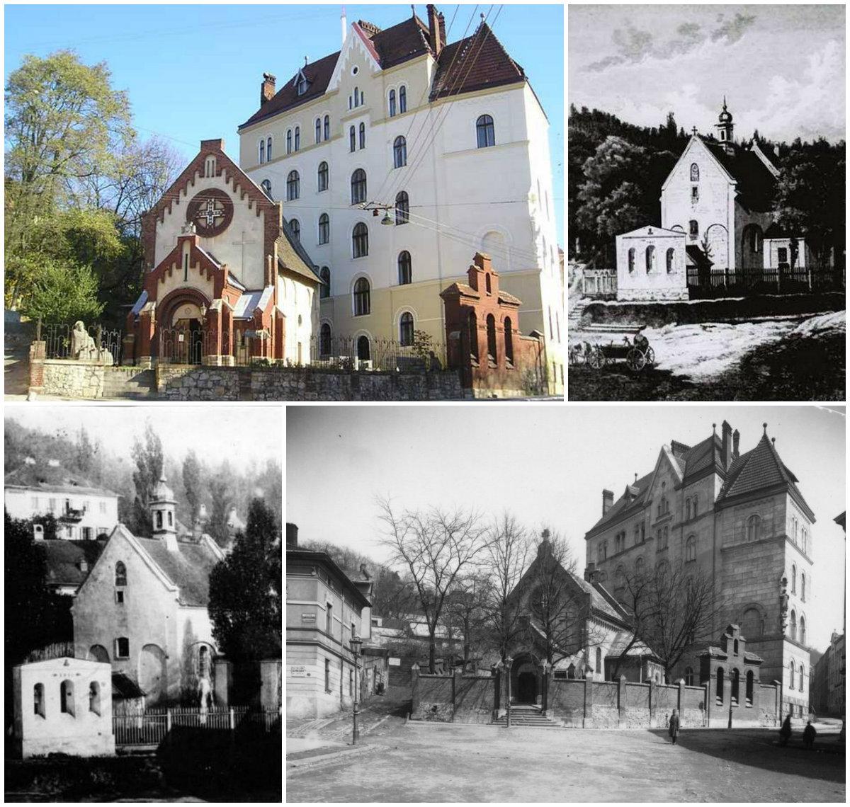 Найдавніші храми Львова . Костел Івана Хрестителя
