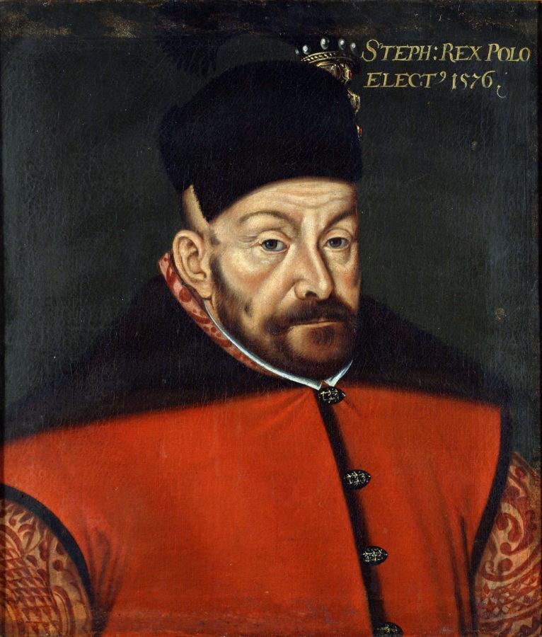 Портрет Стефана Баторія Войцеха Стефановського. 1576 рік.