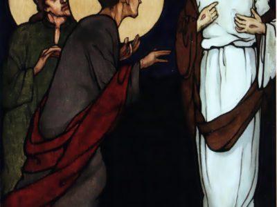 """Олена Кульчицька. Невір'я Томи. Із циклу """"Страсті Христові"""". 1915 р."""