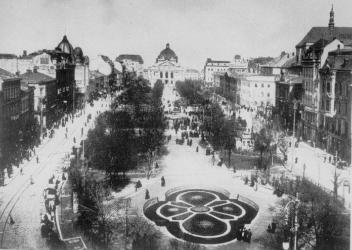 Сучасний проспект Свободи, 1941 р.