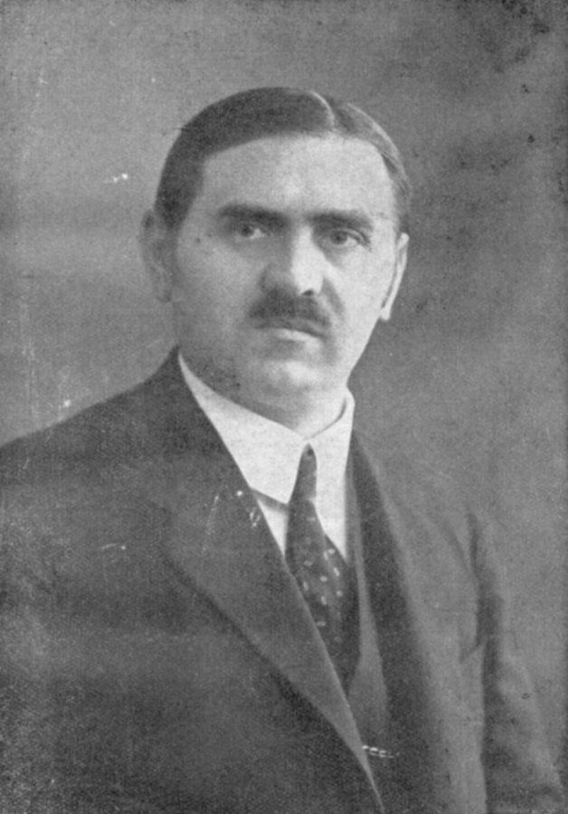 Президент клубу Вінцентій Шпальтовський. Фото з https://pl.wikipedia.org