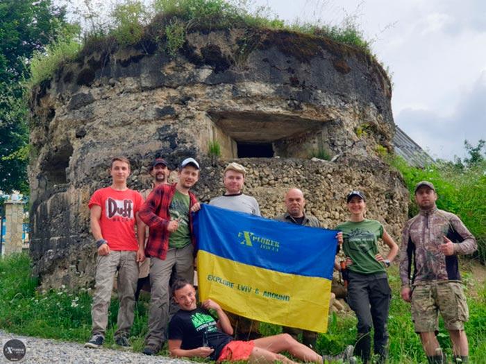 ДОТ в селі Богрівка