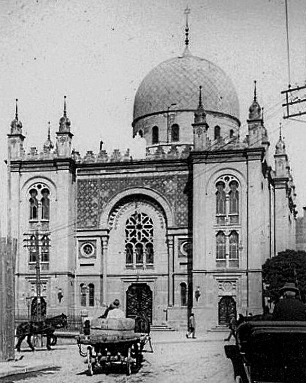 Синагога «Темпль» у Чернівцях, споруджена у 1872-73 роках за проектом Юліана Захаревича