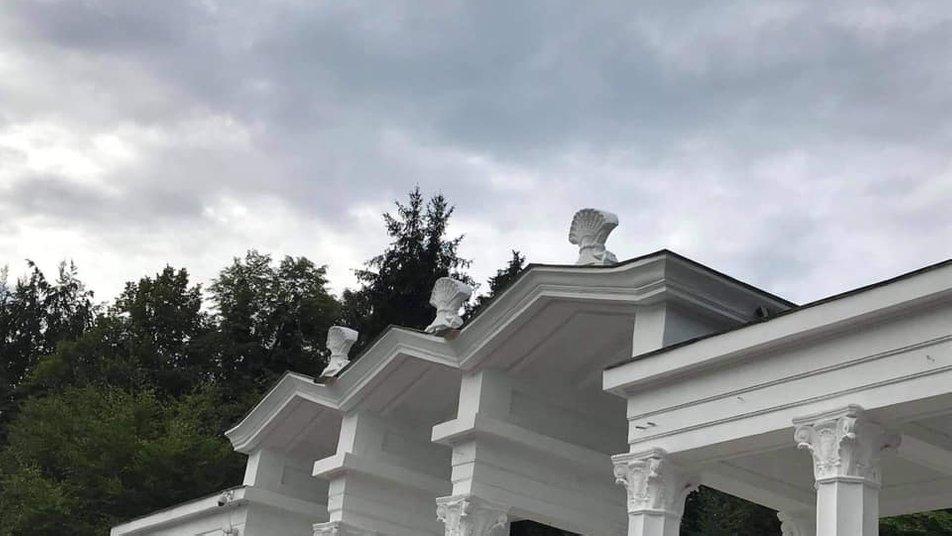 У львівському Парку культури відновили вхідну арку. Фото Андрія Москаленка