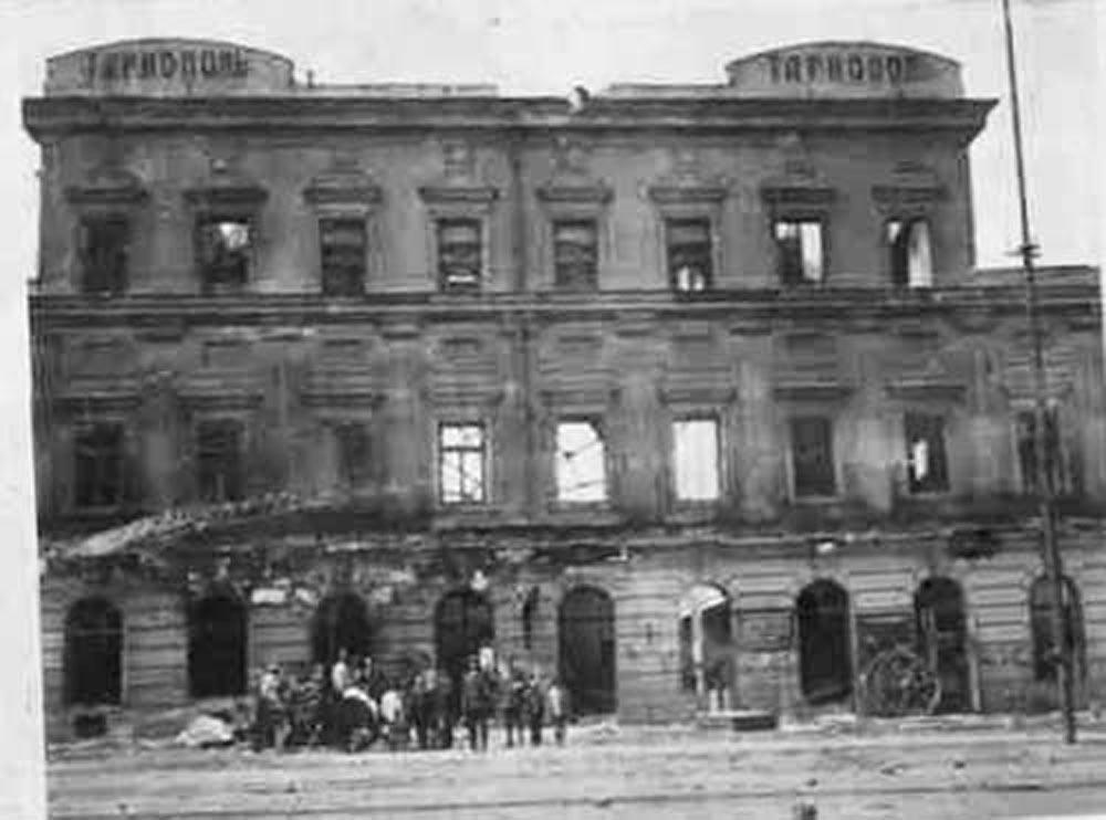 Зруйнований вокзал в Тернополі