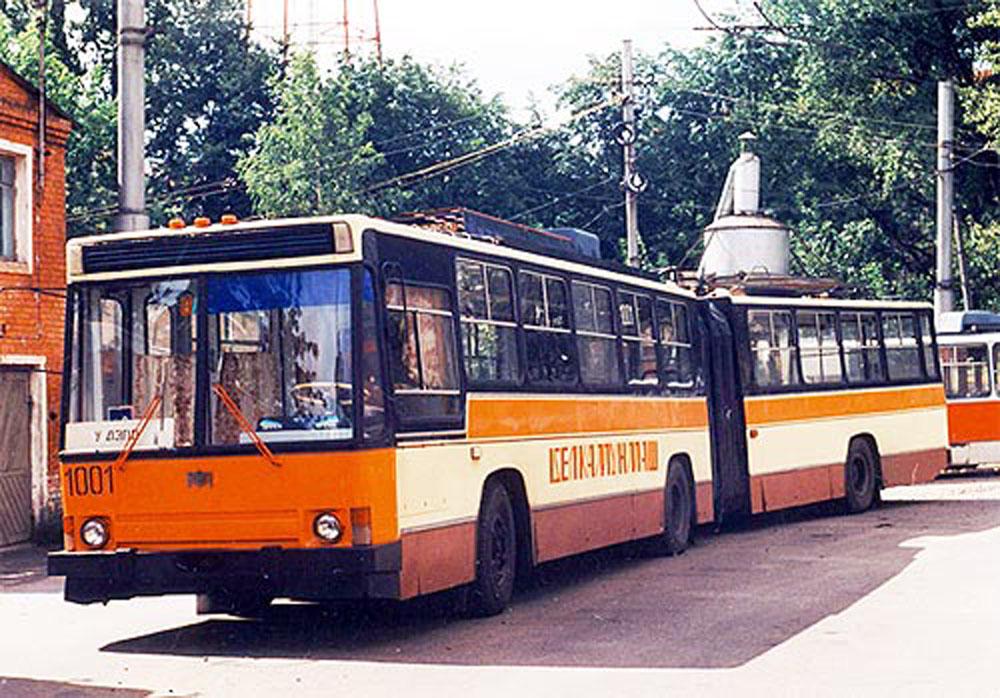 Із тролейбуса «Київ – 11» починалося будівництво тролейбусів у незалежній Білорусі. На фото – тролейбус «Київ – 11», виготовлений заводом «Бєлкомунмаш» у Мінську