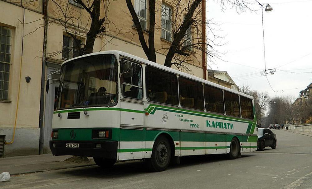 Серійний автобус ЛАЗ-4207. Сучасне фото