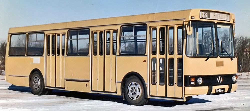 Прототип автобуса ЛАЗ-5252, виготовлений в експериментальному цеху ВКЕІ «Автобуспром» в кінці 1970-х років