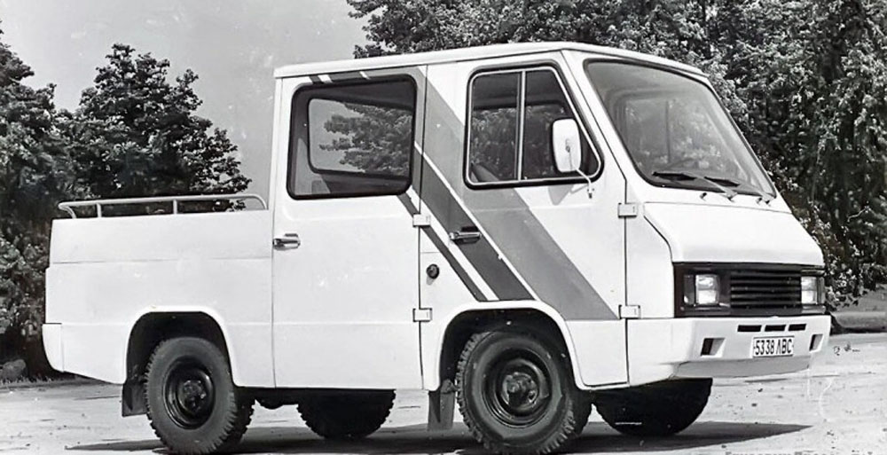 Вантажний мікроавтобус-пікап «Сула». Прототип