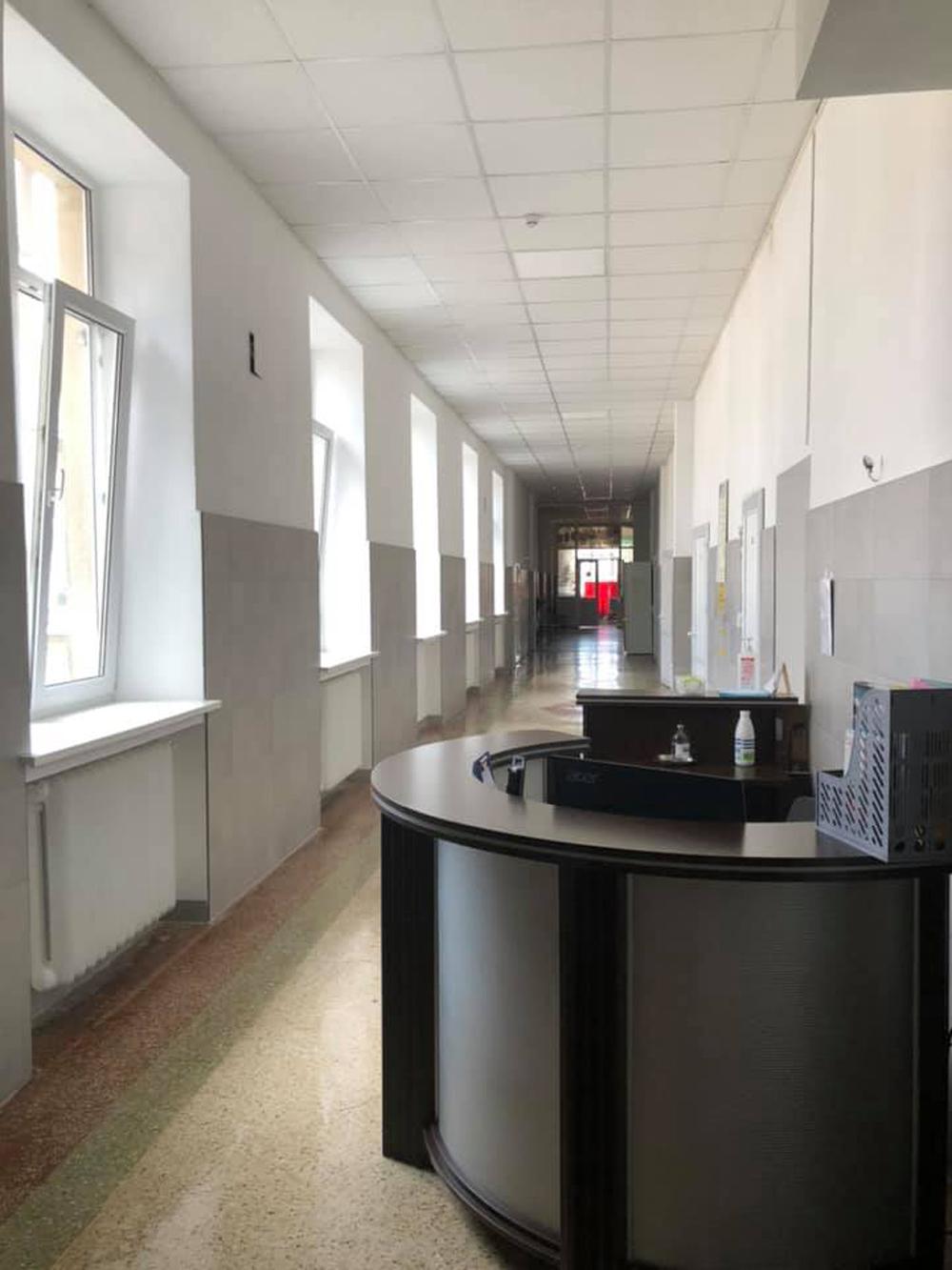 Урологічне відділення Львівської ОКЛ після ремонту. Сучасне фото