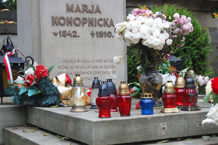 Могила Марії Конопницької