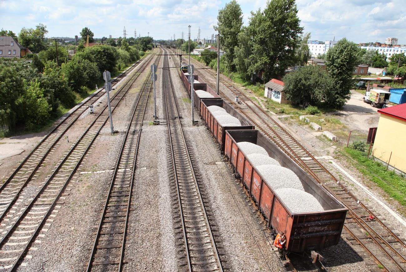 Маневрові роботи на станції Персенківка, фото, сьогодення