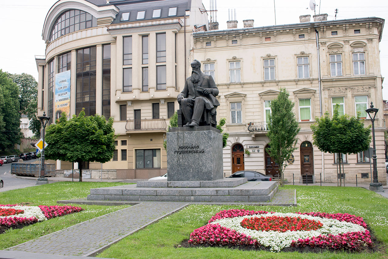 "Результат пошуку зображень за запитом ""• Старий університет і памятник Грушевському"""