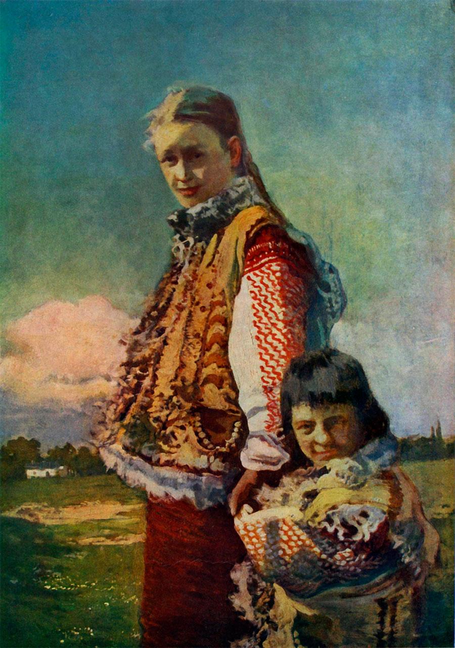 Іван Труш «Гуцулки»1912р.