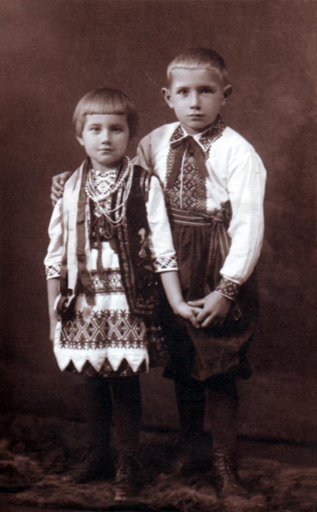 Діти Івана Тиктора - Наталя та Зеновій