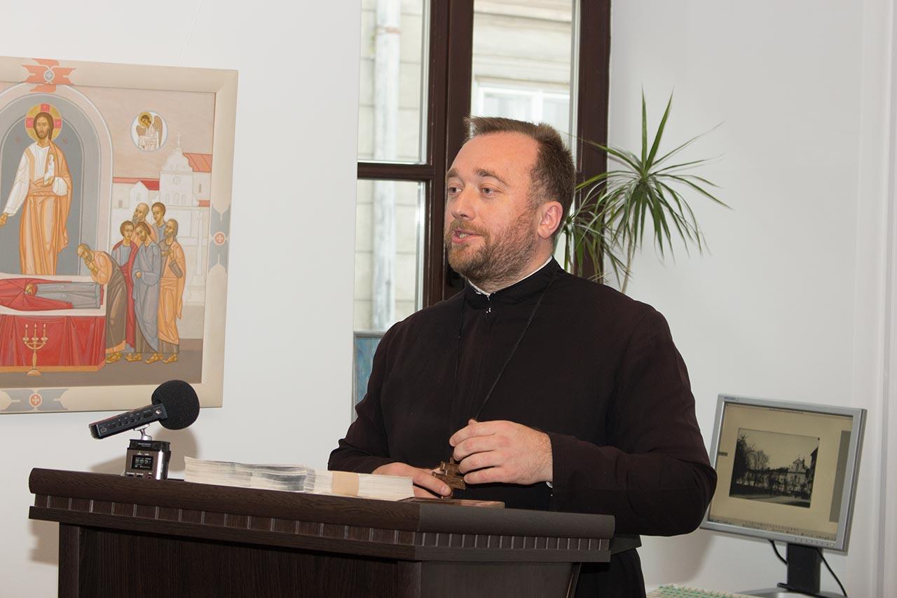 Настоятель Свято-Іванівської Лаври єрм д-р. Юстин Бойко