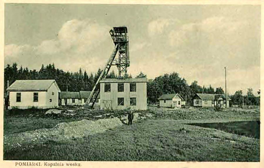 Трускавець. Урочище Помірки. Озокеритна шахта, поч. 20-і рр. ХХ ст.