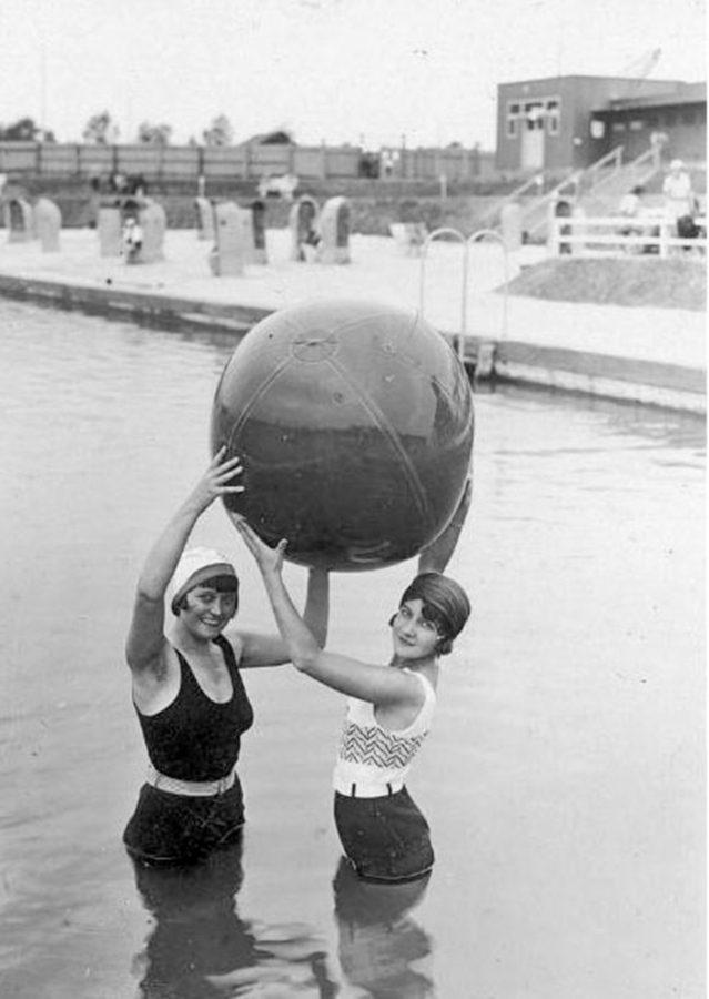 Трускавець. Урочище Помірки. Спортивні розваги на літньому курорті, 30-і рр. ХХ ст.
