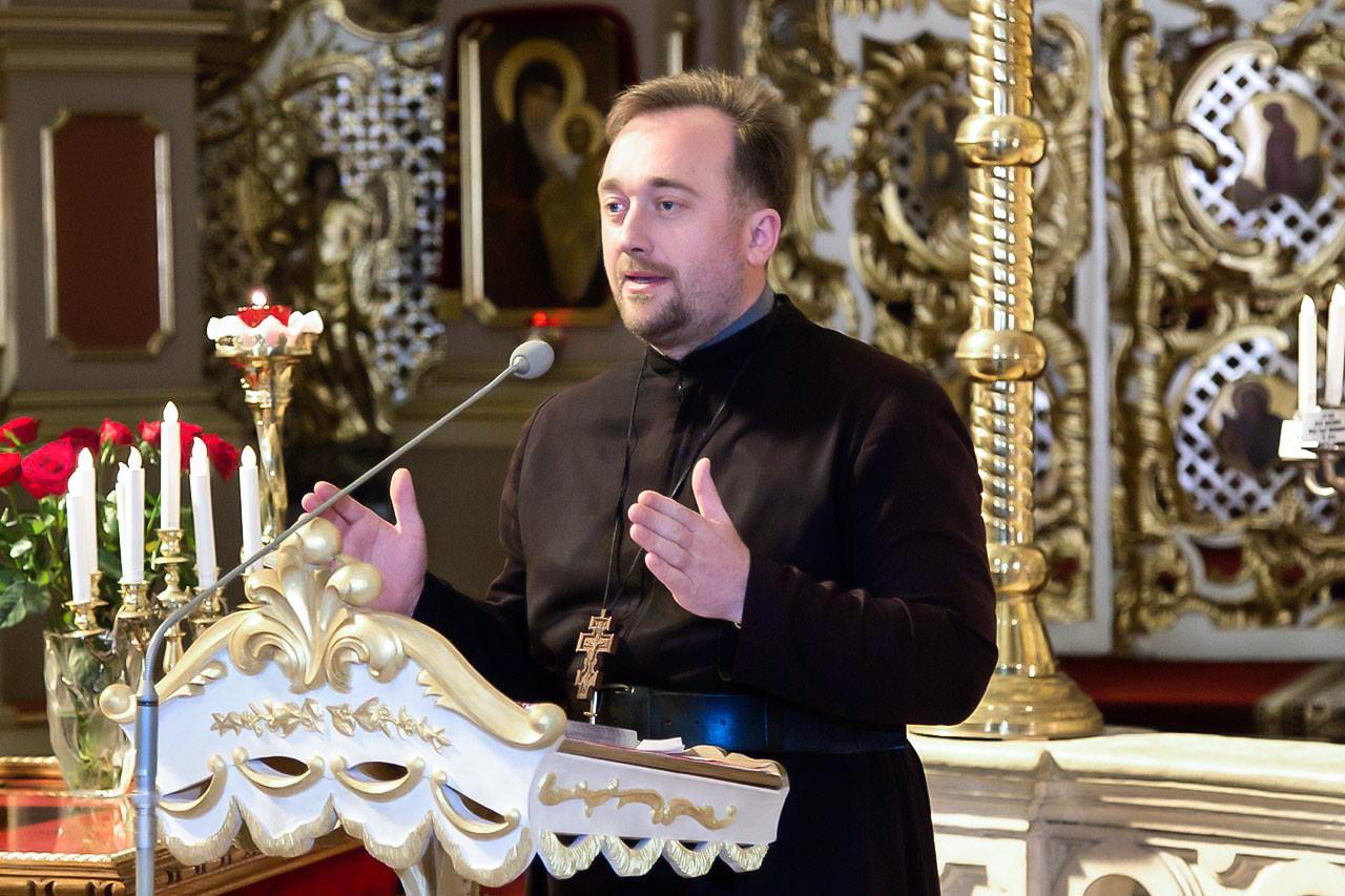 Упорядник книжки, отець УГКЦ Юстин Бойко