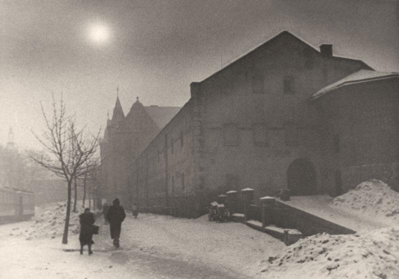 Міський арсенал у Львові, зима 1941 року. Фото Сергія Шиманського