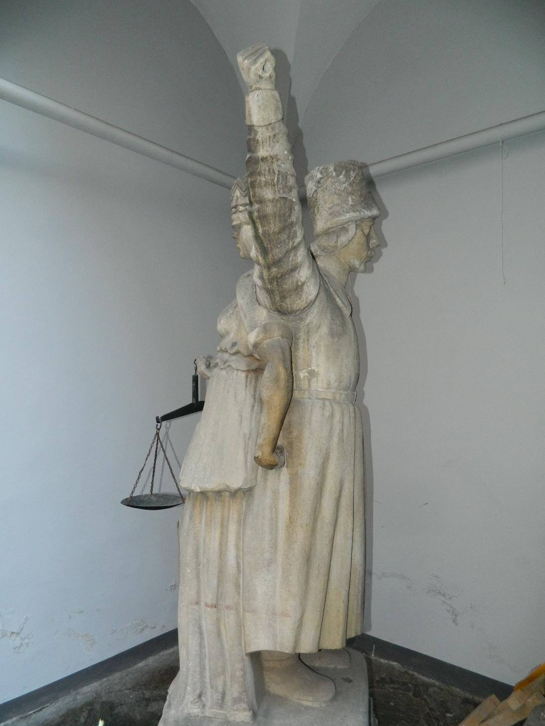 Прангер, або стовп ганьби. Один з символів львівського правосуддя. Фото з https://uk.m.wikipedia.org