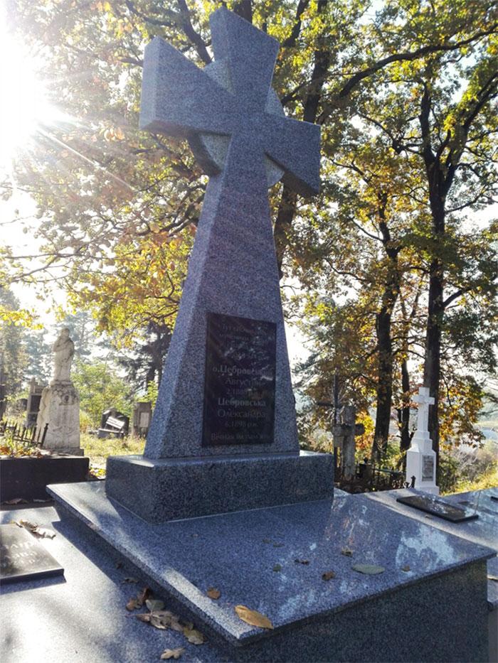 Меморіал мучеників у Черепині на місцевому цвинтарі. Фото Ігоря Скленара